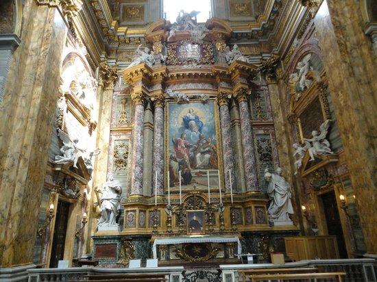 Basilica dei SS. Ambrogio e Carlo al Corso : inside