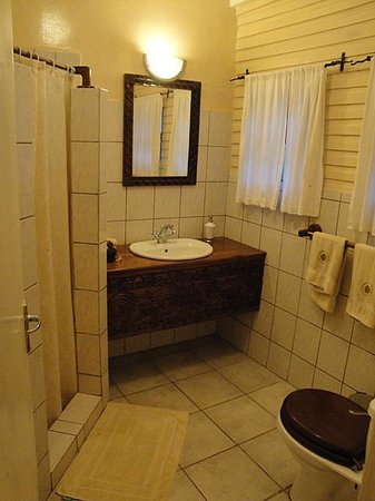 Mount Meru Game Lodge & Sanctuary: bathroom of room nr 1