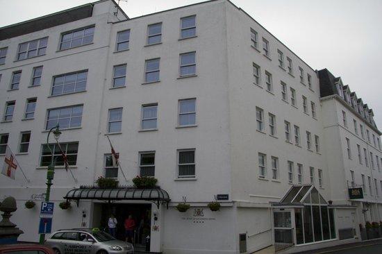 The Duke of Richmond Hotel : vue du park