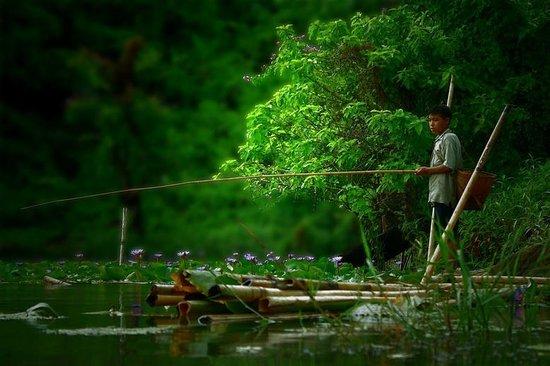 Boga Lake: day time