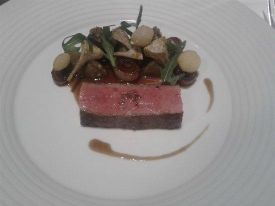 Victor's Gourmet Restaurant Schloss Berg: Beef