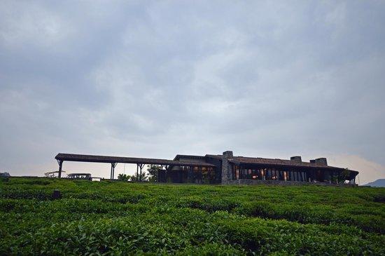 Nyungwe Forest Lodge: Ansicht des Hauptgebäudes