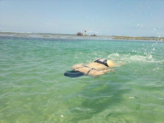 Chales Praias do Sul: Banho ideal para crianças