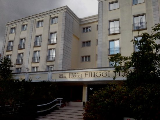 BEST WESTERN Hotel Fiuggi Terme Resort & SPA: hotel fron
