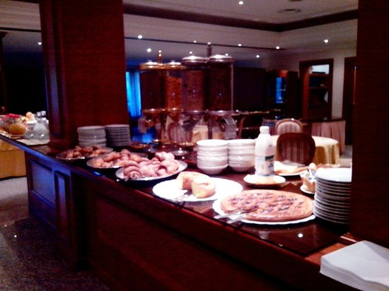 BEST WESTERN Hotel Fiuggi Terme Resort & SPA: breakfast area