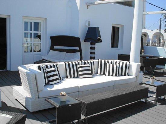 Aressana Spa Hotel and Suites: Sun terrace