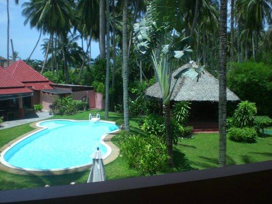 Marco Polo Resort & Restaurant: la piscina - vista dalla camera