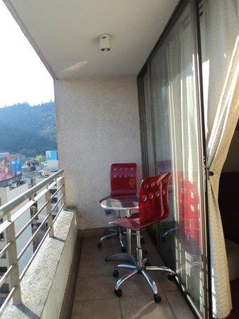 Apartamentos Capital: Balcón