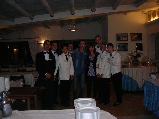 Hotel La Bisaccia : Lo staff di sala