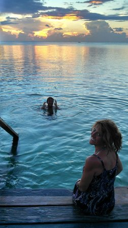 Sea Dreams Hotel: unbelievable sunset