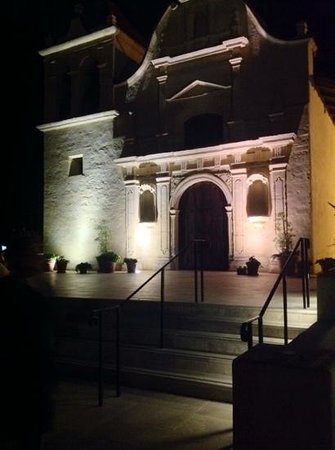 Ghost Tour of Old Monterey : San Carlos Cathedral