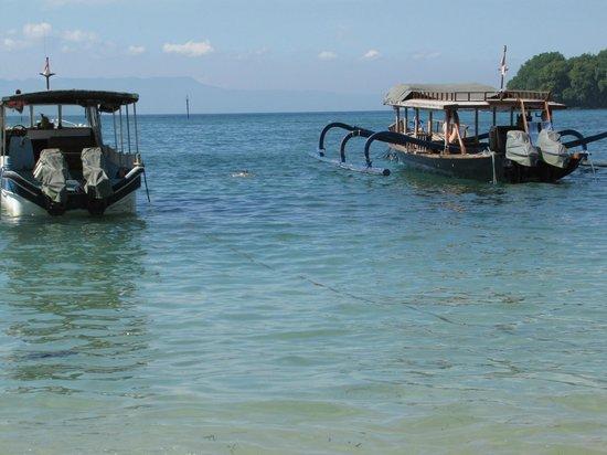 Absolute Scuba Bali: лодки ждут