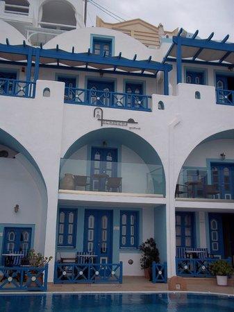 Agnadema Apartments: Studio room on the top right