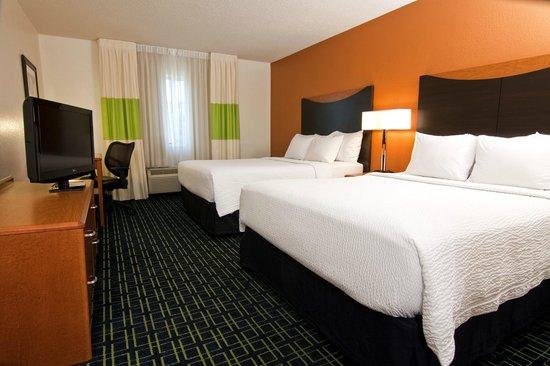 Fairfield Inn & Suites Minneapolis Burnsville: Standard Two Queen Room