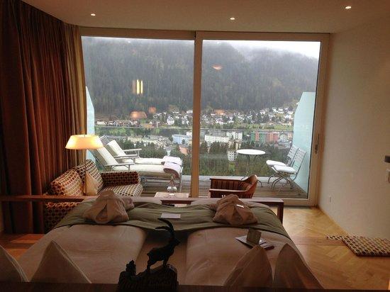 Waldhotel Davos: Suite im 5. Stock