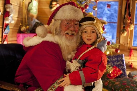 Karesuvanto, ฟินแลนด์: For families, a visit with Santa this is the ultimate treat