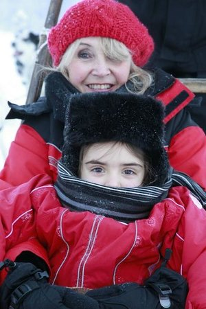 Davvi Arctic Lodge: Don't forget your hat and scarves!