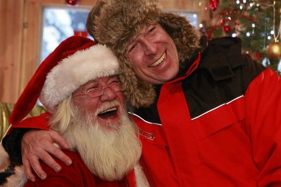 Davvi Arctic Lodge: Santa is not just for kids!