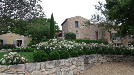 Coquillade Village : Garden view