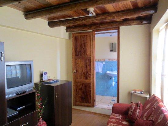Hotel Casona les Pleiades: Room 8 - lower floor