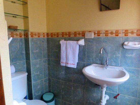 Hotel Casona les Pleiades: Room 8. - bathroom