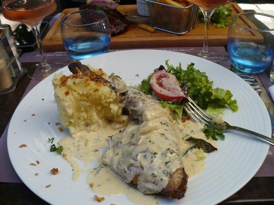 Cafe Le Mirabeau : Poullet