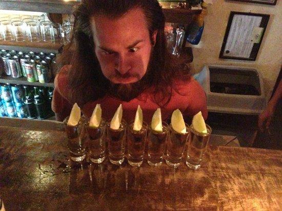 Ocelot : bartender from Oregon