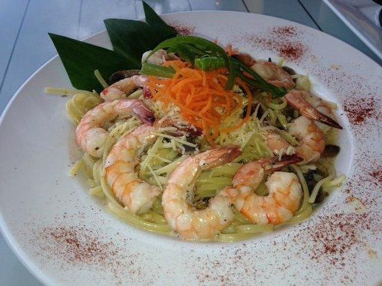 JJ's Broiler: Shrimp Scampi