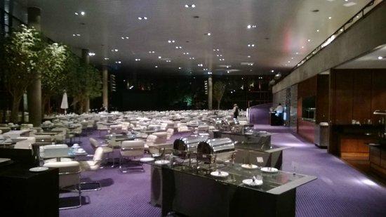 Pestana Casino Park Hotel : Comedor de desayunos...