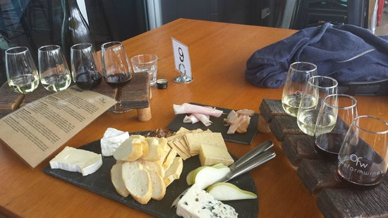 The Cheese Barrel: Beautifully served meal of cheeses and matched wines