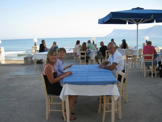 Galini Beach Hotel: spettacolare colazione sul mare