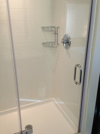SpringHill Suites Alexandria Old Town/Southwest: Shower