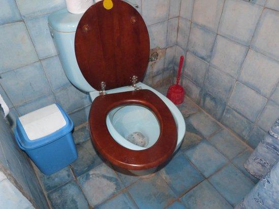 Riad Kaleido: cuvette wc