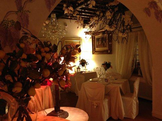 Agriturismo Angeli Biondi: Sala pranzo/cena