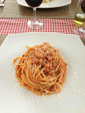 Marco: Spaghetti Bolognese