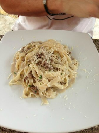 Marco: Tagliatelle with Duck