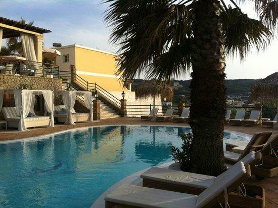 Delfino Blu Boutique Hotel: Hotelbereich (Pool)