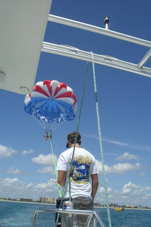 Cocoa Beach Parasail: Great Staff..Rusty Rocks(Fun and of course..Safety First!:)..
