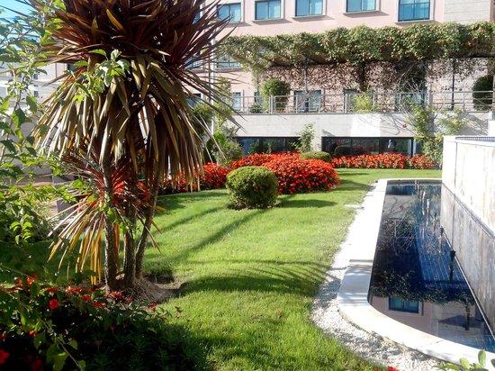 Hotel Carlos I Silgar: Jardines