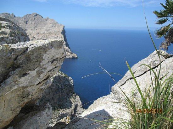 Inturotel Esmeralda Park: Utsikt från Formentor