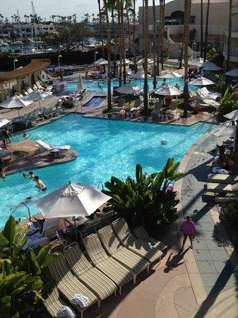 Loews Coronado Pool Area From Hotel Room Balcony Picture Of Loews