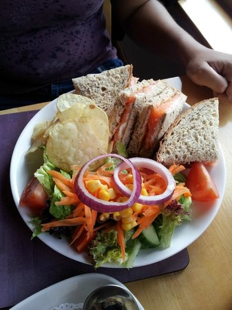 Glen Rowan Cafe: Sandwich