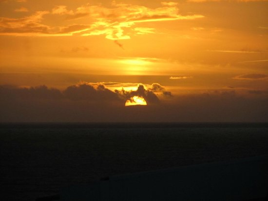 Caloura Hotel Resort: Sunset Photographed From Our Terrace! West Facing Room.