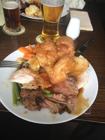 The Tennants Arms: Carvery to kill for.