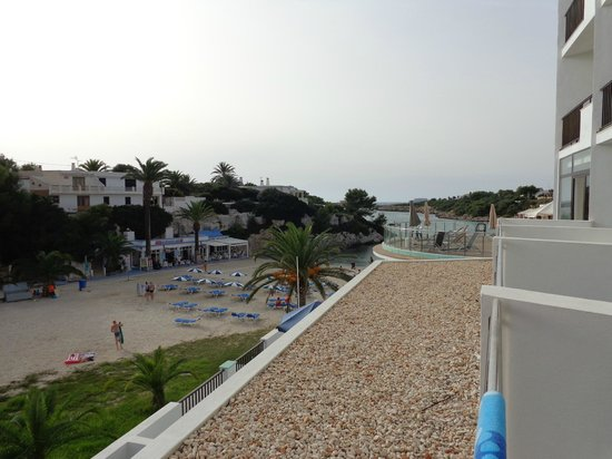 Santandria Playa Hotel : View from the terrace of room 207