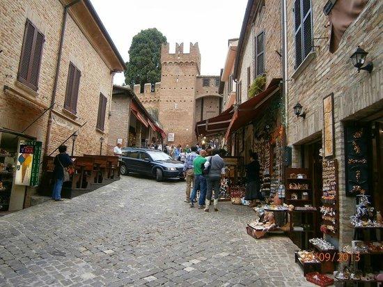 Tavernetta Paolo e Francesca: zona del ristorante