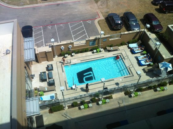 aloft Austin at the Domain: Pool - top view