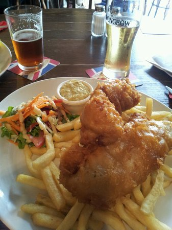 Oxford Arms : Fish and chips