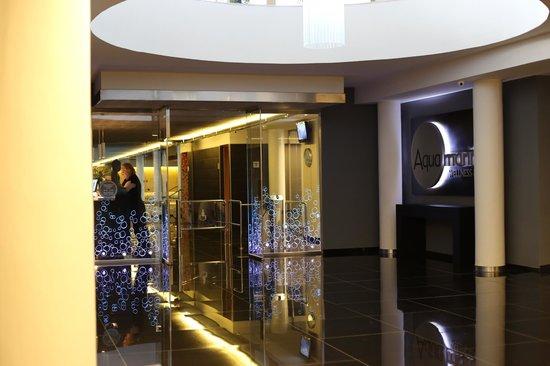 Aqua Hotel Aquamarina : Вход в зону спа
