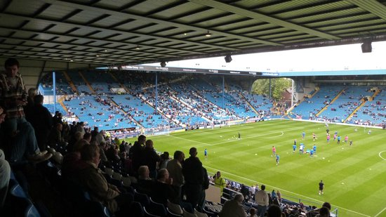 Hillsborough Stadium: View from North Stand